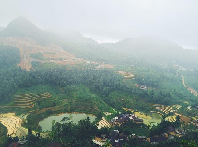 exploring the story of ha giang in watering season from local meo people