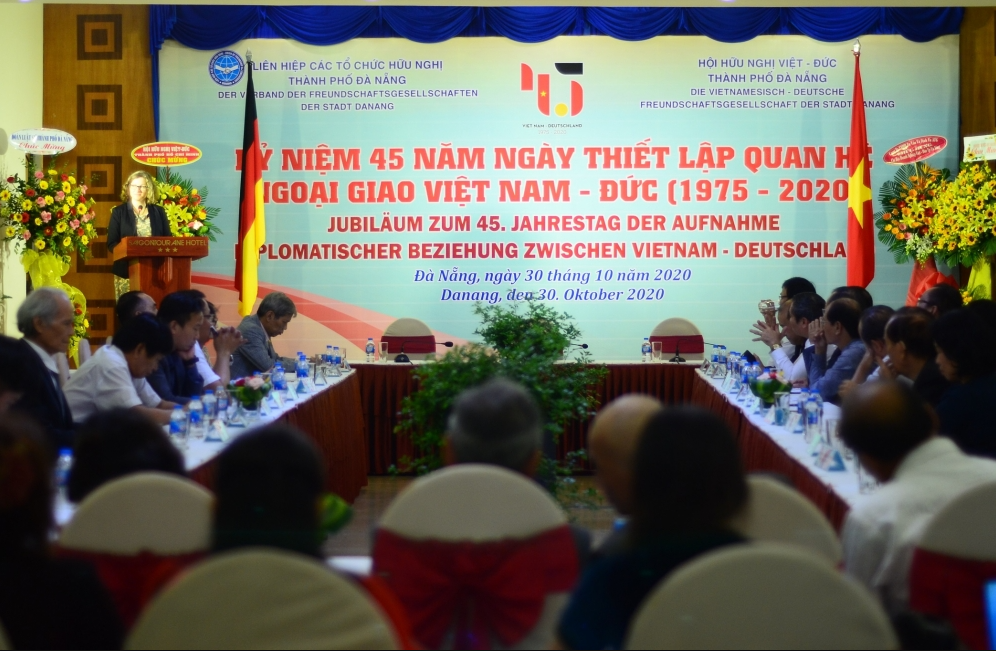 business association launched on 45th anniversary of relations between vietnam and germany