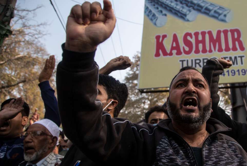 Three politicians from India's ruling party killed in Kashmir