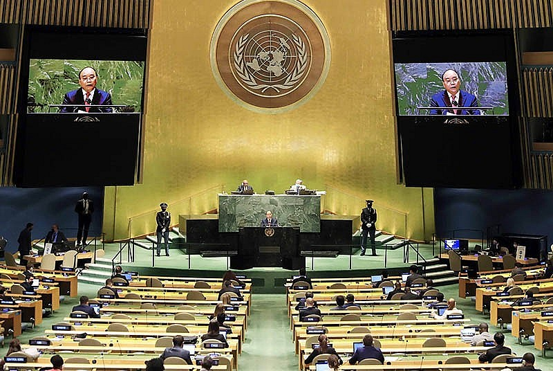 76th Session of UN General Assembly: Message of Self-reliant, Confident Vietnam