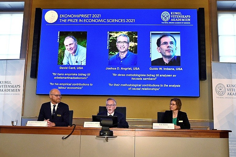 Biography of Three Economists That Win the 2021 Nobel Prize