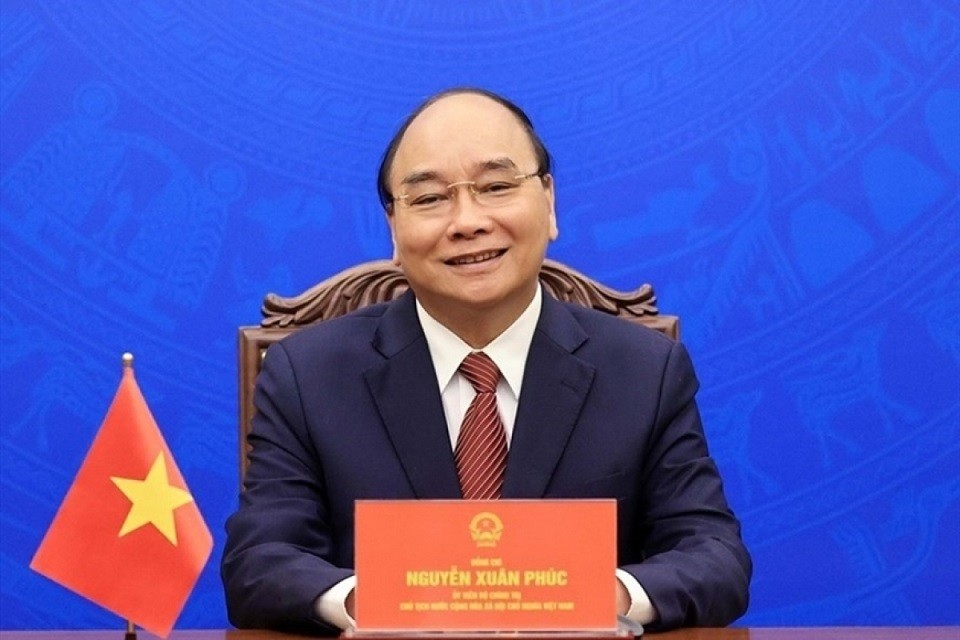 President Nguyen Xuan Phuc Looks For Continued Support From US in Pandemic Fight