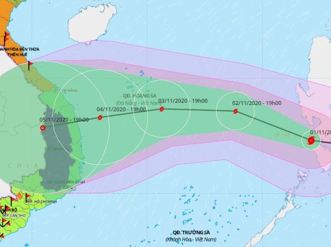 Storm Goni to enter Bien Dong Sea & Vietnam