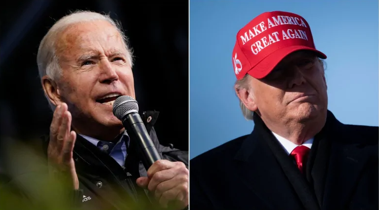 us election trump wins in iowa poll hints at firing dr anthony fauci biden leads nationwide
