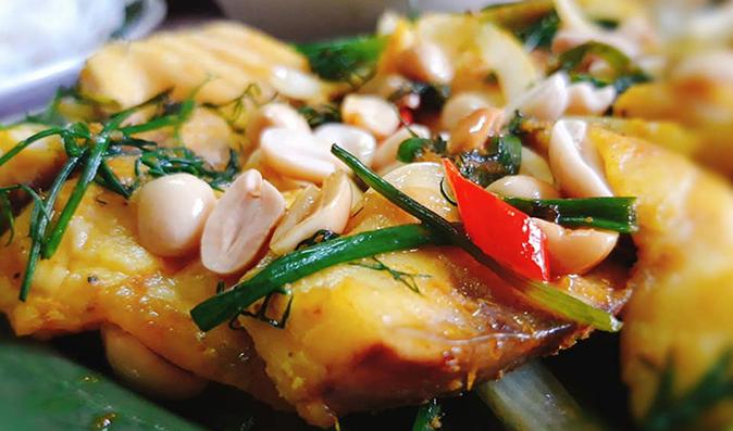 "Perfect recipe for the legendary Hanoi's ""chả cá Lã Vọng"""