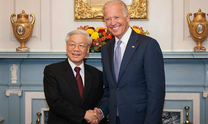 biden economic policies likely to advance vietnam said analysts
