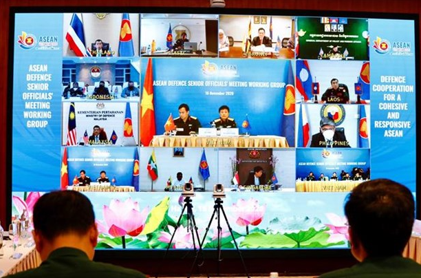 asean defense senior officials partners gathered to bolter defense cooperation