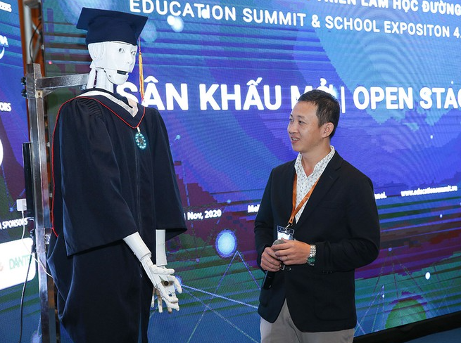 vietnam launched first ai robot serving educational purposes