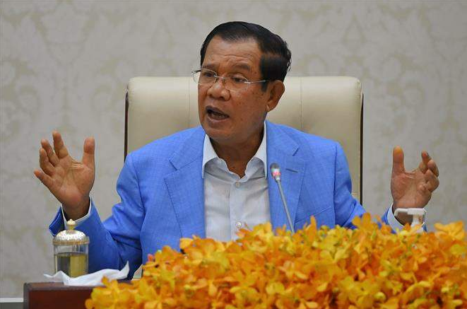 pm hun sen spoke highly of vns immense support to help cambodia regain its freedom