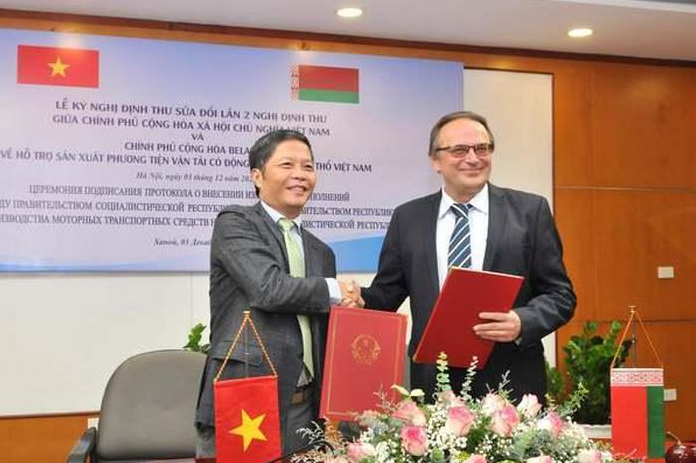 Many Belarusian car models continue to be produced in Vietnam