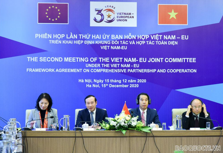 EU supports maintaining maritime and aviation security & law-abiding in Bien Dong Sea