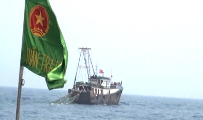 Vessels with Chinese flags chased away from Vietnamese seas
