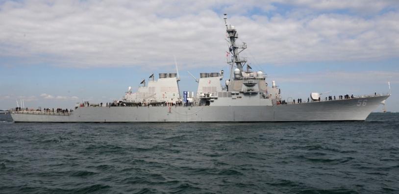 us rejects china expelled its navy warship near truong sa