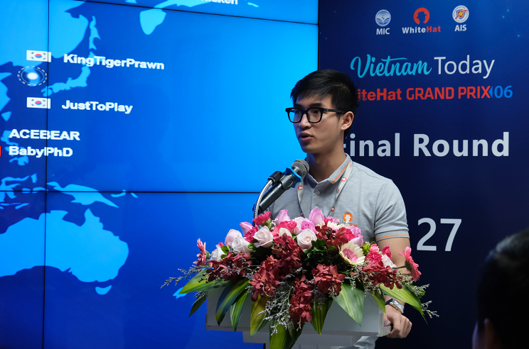 South Korean team wins Vietnam's global cybersecurity contest