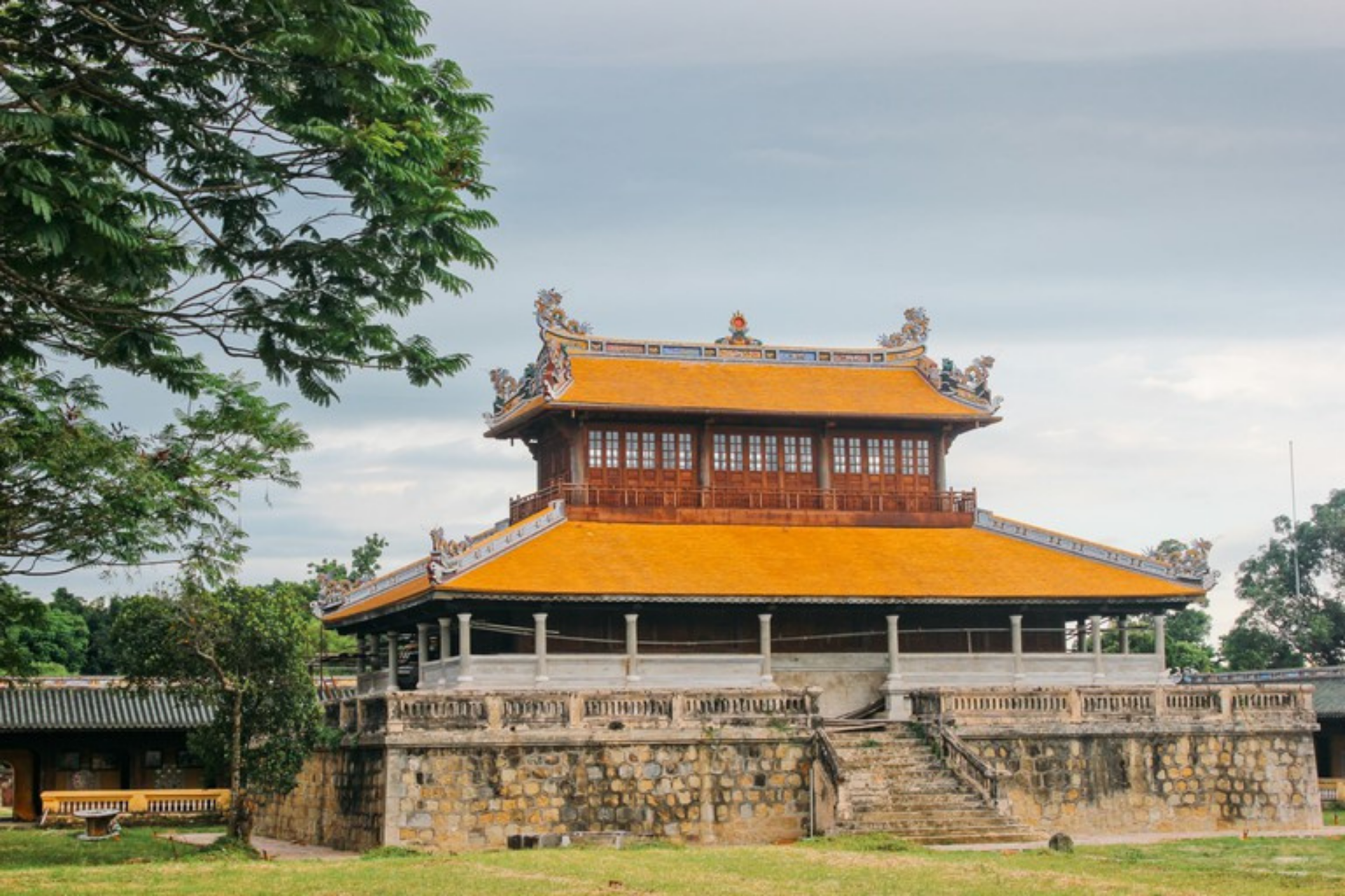 The antique beatuty of Hue Citadel