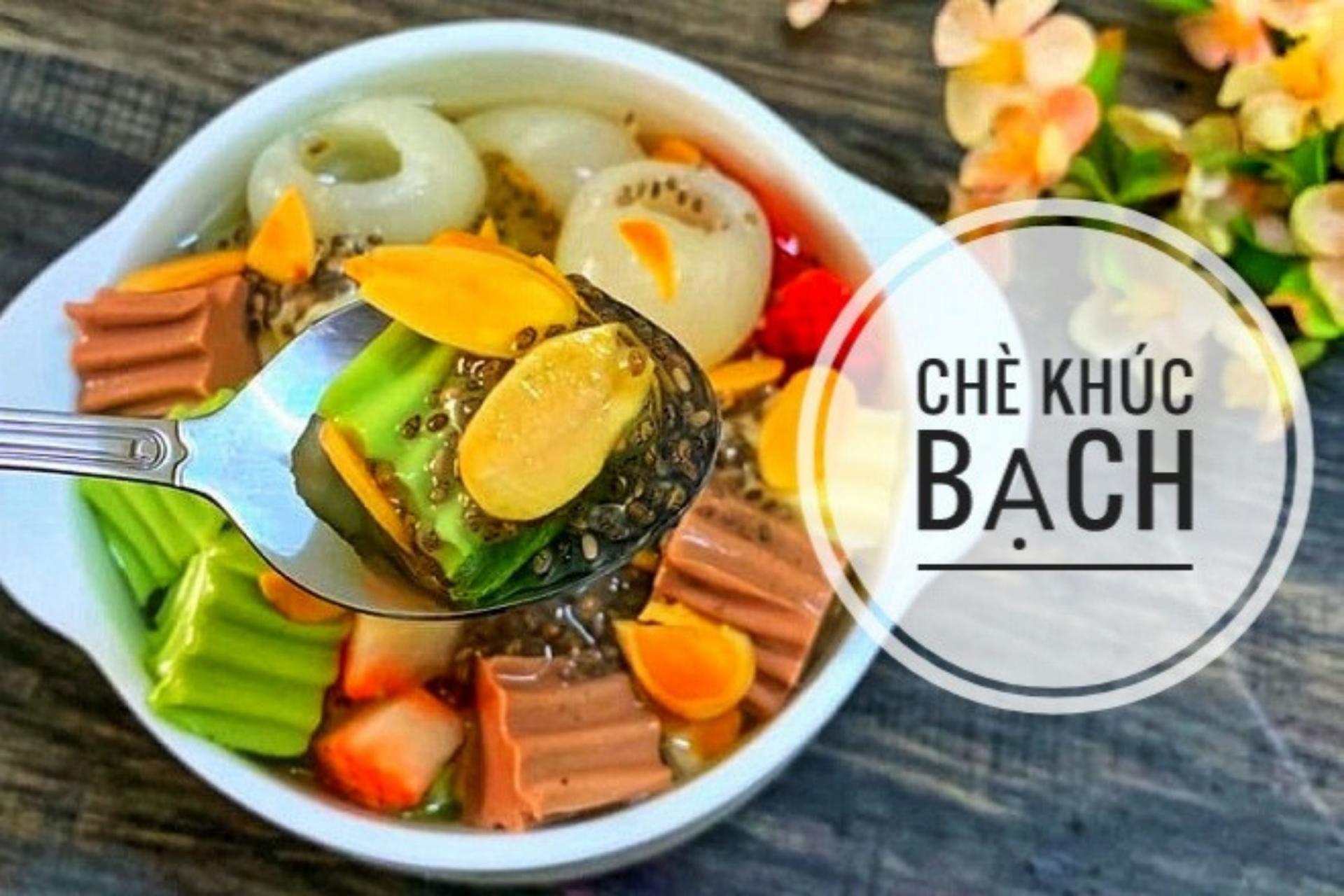 Recipe: Vietnamese Milk Cheese Jelly Sweet Soup Dessert (Chè Khúc Bạch)
