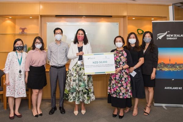 New Zealand provides US$36,000 to support COVID-hit women in Hai Duong
