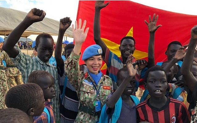 South Sudan's people send gratitude to Vietnamese peacekeeping forces