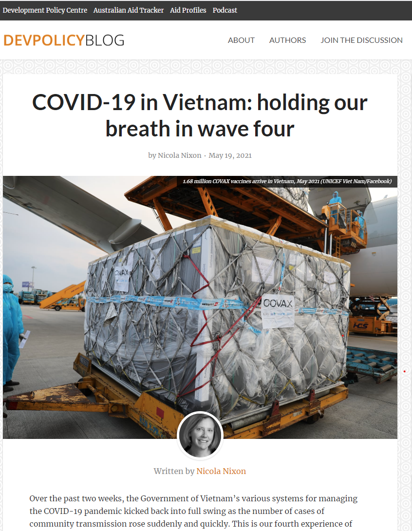 Australian media: Calm and orderliness engenders Vietnam's confidence in Covid-19 fight