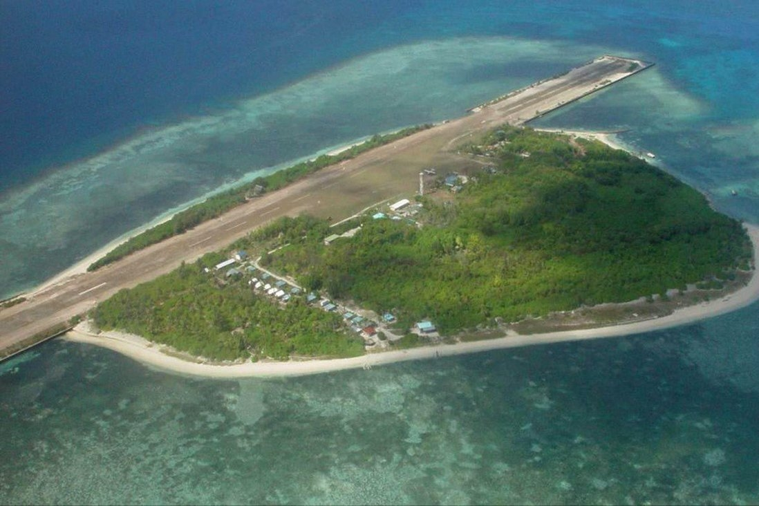 Pag-asa Island, otherwise known as Thitu Island, is situated in the Spratly Islands in the disputed South China Sea.