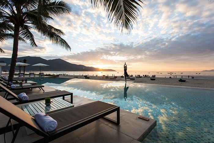 Fusion Maia Da Nang Resort on My Khe Beach. Photo Authentik Travel
