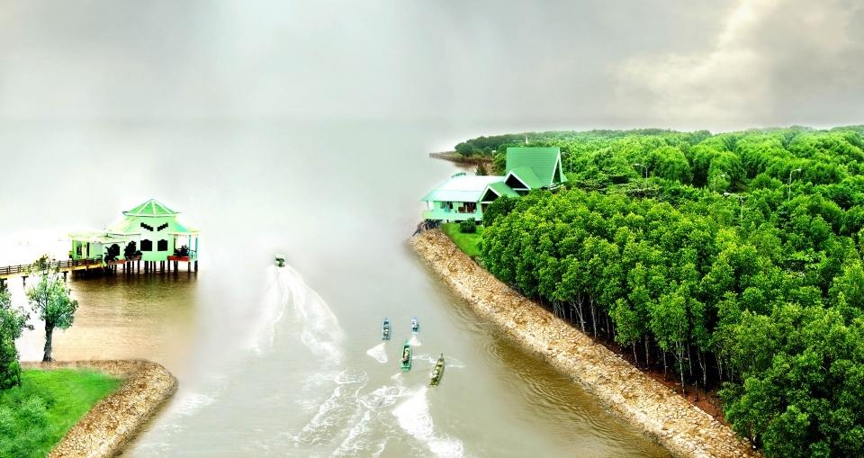 A view of Cape Ca Mau National Park. (Photo: VietnameseFood)
