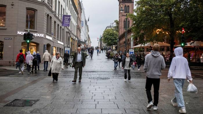 Norway has been helped by low population density and its relative isolation as well as decisive action by the government and health authorities © Odin Jaeger/Bloomberg