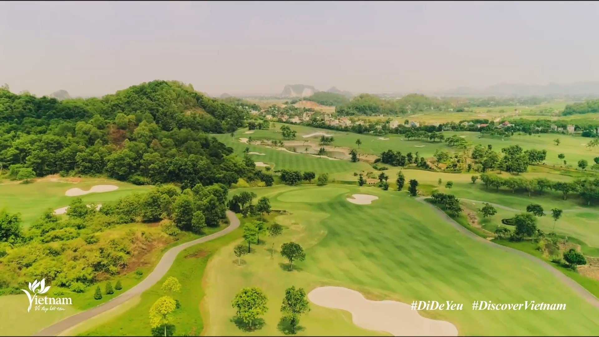 60-second video released featuring Ninh Binh's natural beauty