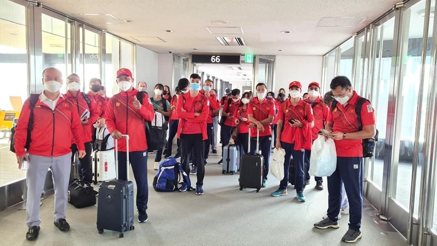 Vietnamese Athletes Arrive In Japan, Ready For Olympics Games