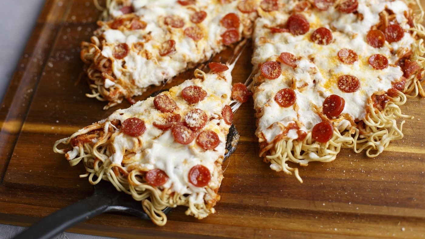 How to Turn Instant Noodles Into Tasty Pizza: Quick and Easy Recipe for Lockdown Living