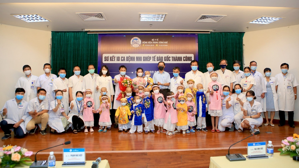 A lot of children with cancer have been successfully treated at Hue Central Hospital thanks to the help of...