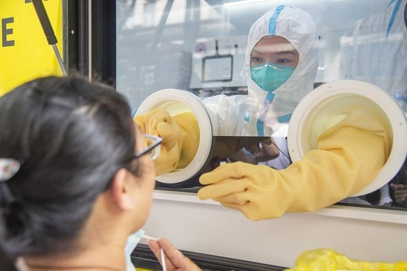 Wuhan is where the first case of coronavirus was reported in 2019 (Image: PA)