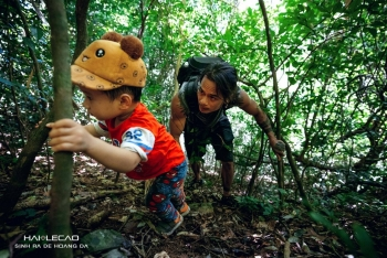 The Trekking Two-Year Old of Cat Ba Island