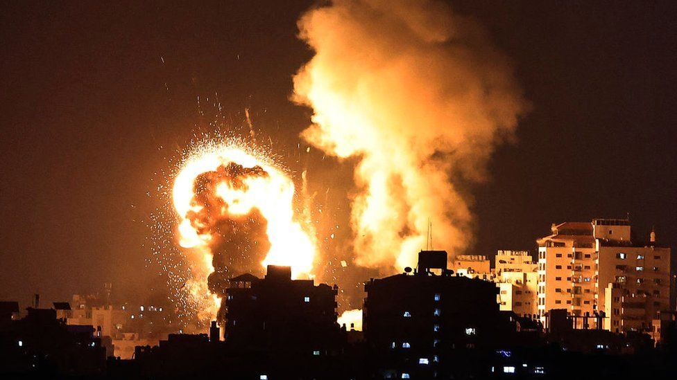 Violence escalated between Palestine and Israel