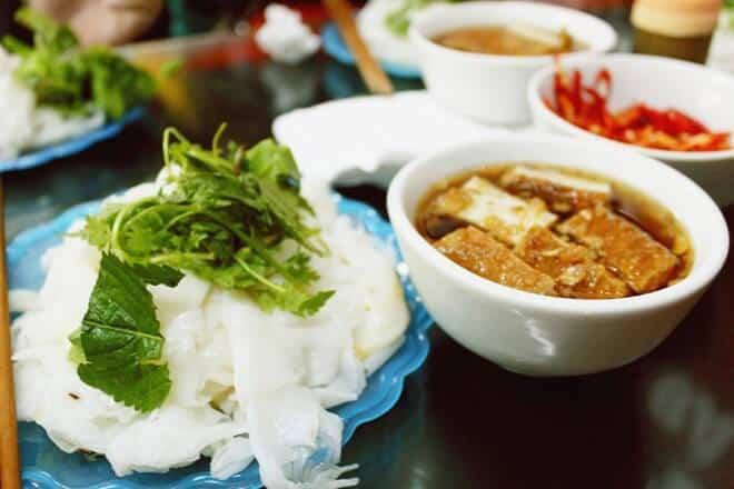Banh cuon across Vietnam