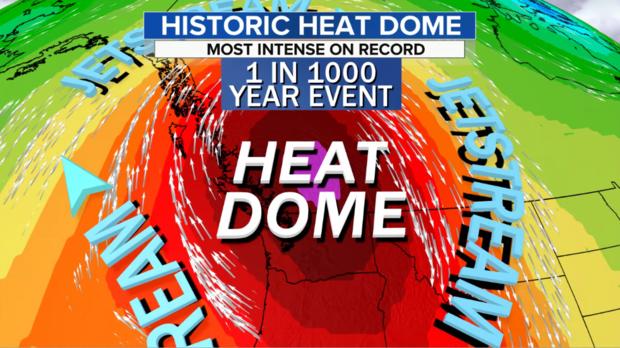 What Causes Unprecedented Heatwave in the Pacific Northwest?
