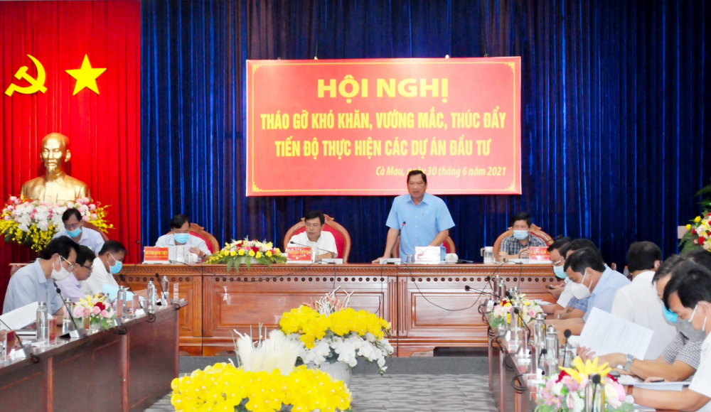 Ca Mau province addresses challenges in investment projects