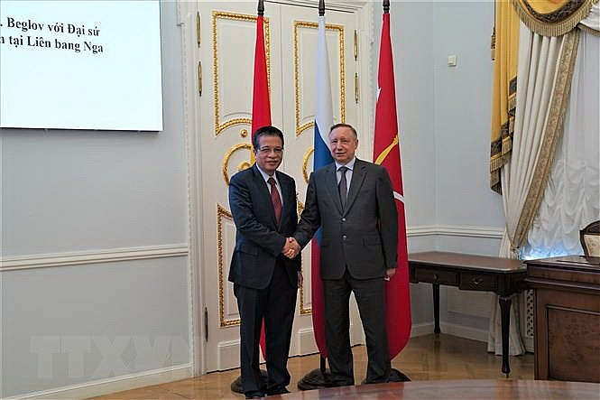 St. Petersburg Governor Proposes Initiatives to Enhance Cooperation with Vietnam