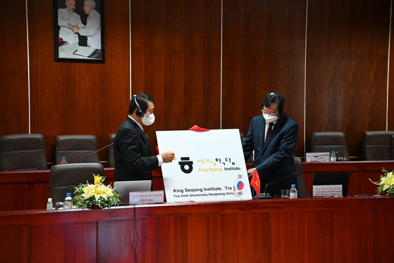 Tra Vinh King Sejong Institute Launched