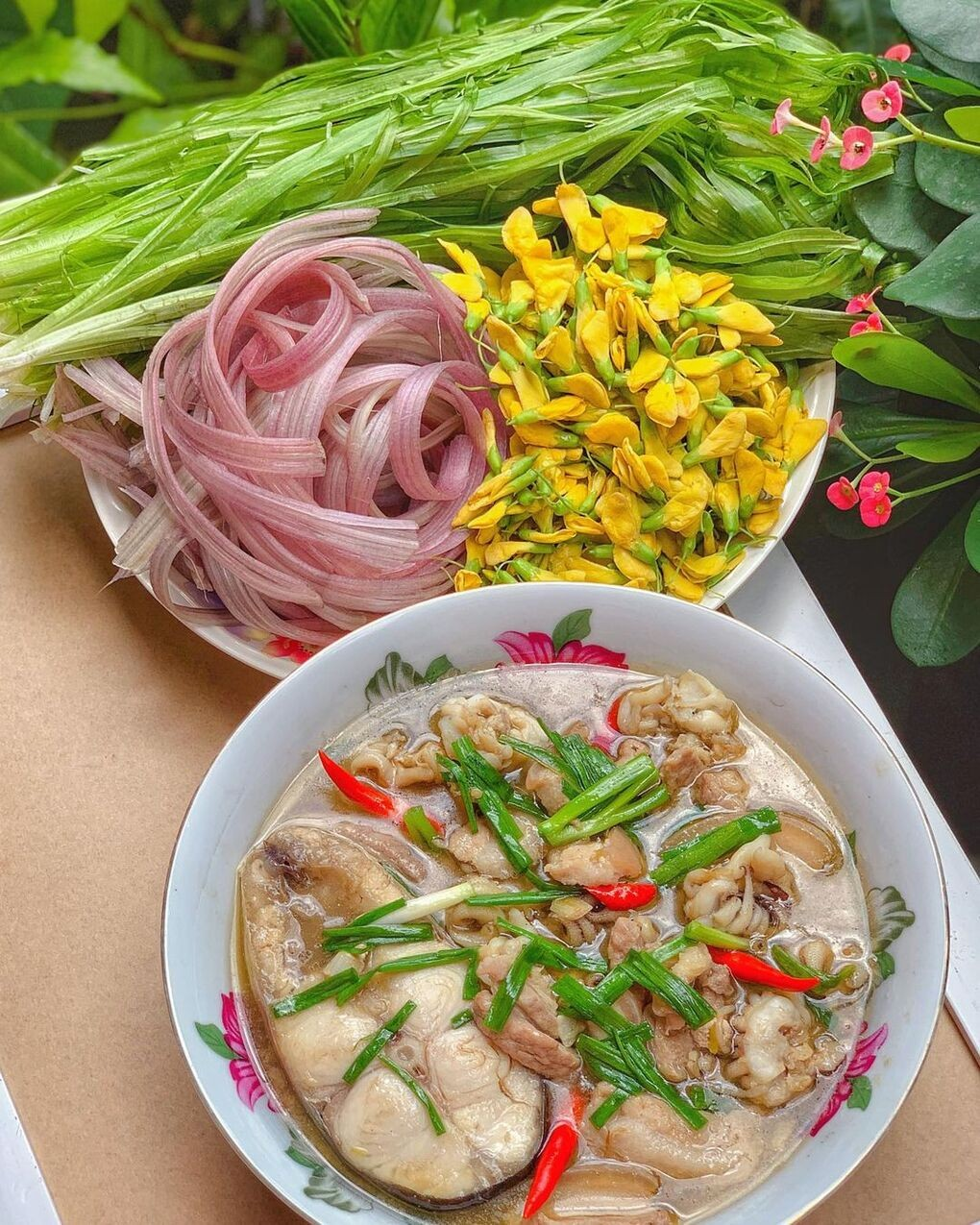 Three Specialties Used to be Seen as Weeds in Southern Vietnam
