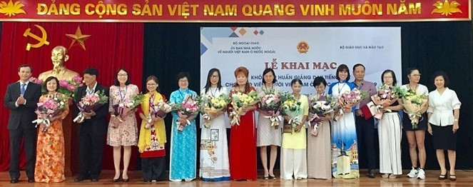 Online Training Course to be Provided for Overseas Vietnamese Teachers