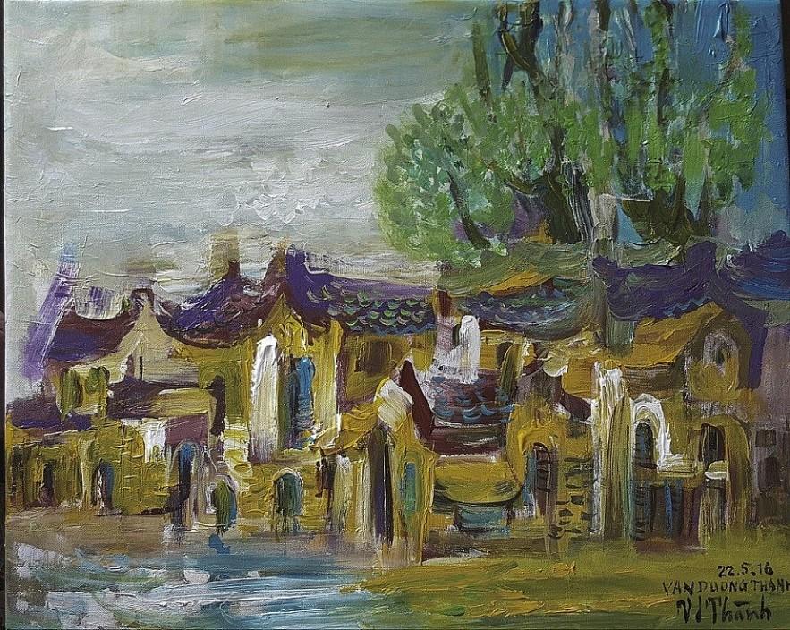 Vietnamese-Swedish Artist Van Duong Thanh Creates Art for her Homeland