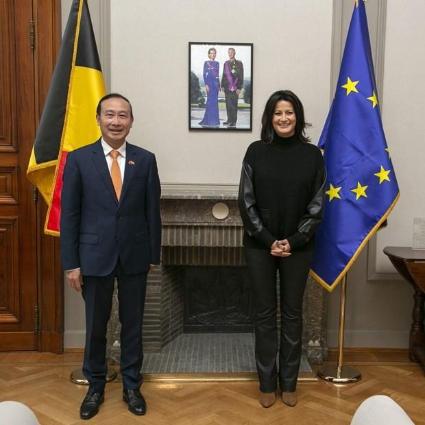 Vietnam, Belgium Strengthen Economic Bonds