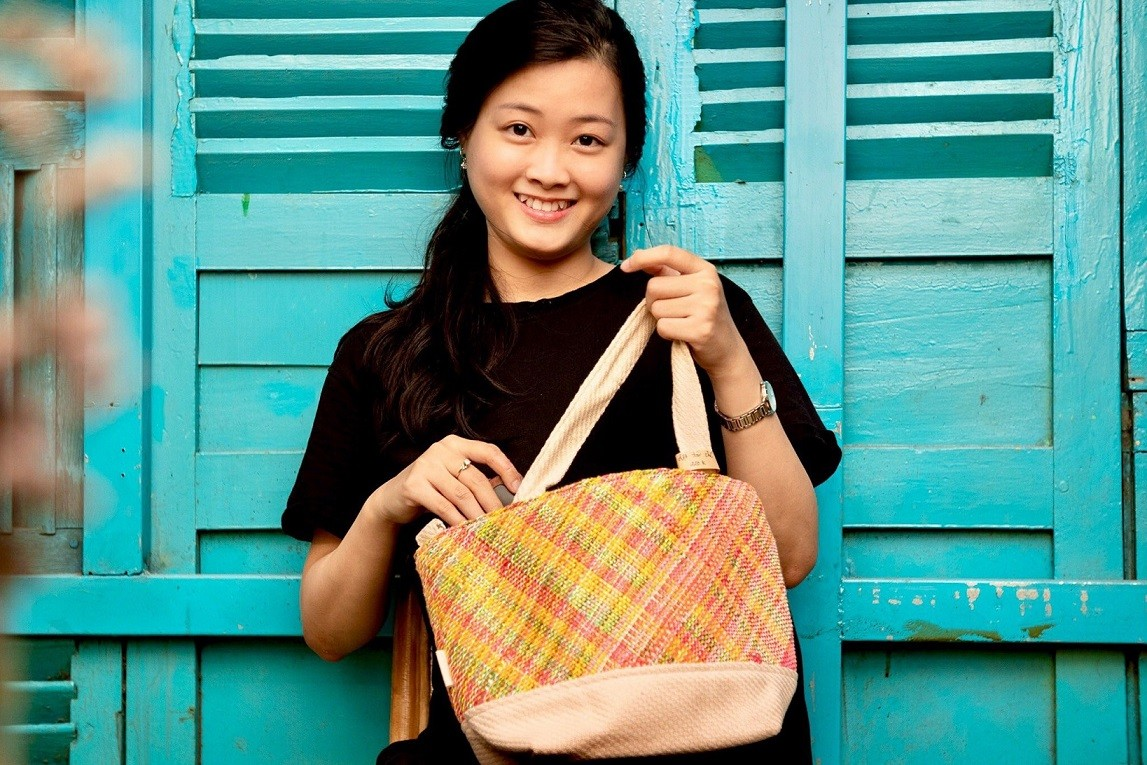 Young Entrepreneur from Ho Chi Minh City Aiming to Upcycle Plastic Bags