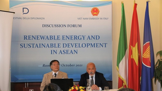 The Renewable Energy Sector in ASEAN Attracts Italian Businesses