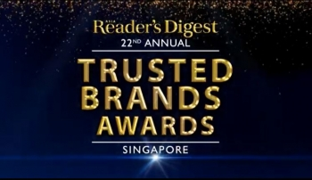 best of the best over 100 singapores elite brands were awarded at the inaugural readers digest trusted brands awards