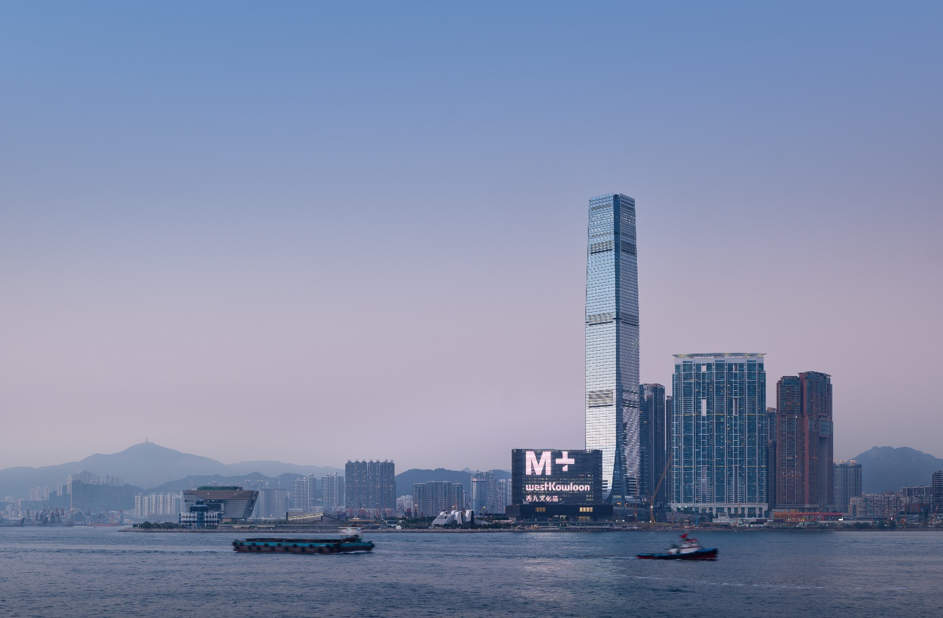 M+ museum building completed - The first global museum of contemporary visual culture in Asia set to open at the end of 2021 in Hong Kong