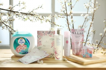 the lung fung mall is launching a selection of limited edition items for japanese sakura festival 2021