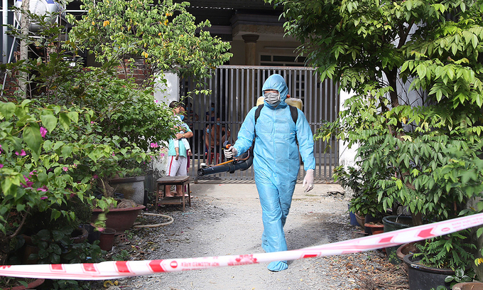last illegal entrant from covid 19 infected group found by hcmc authorities