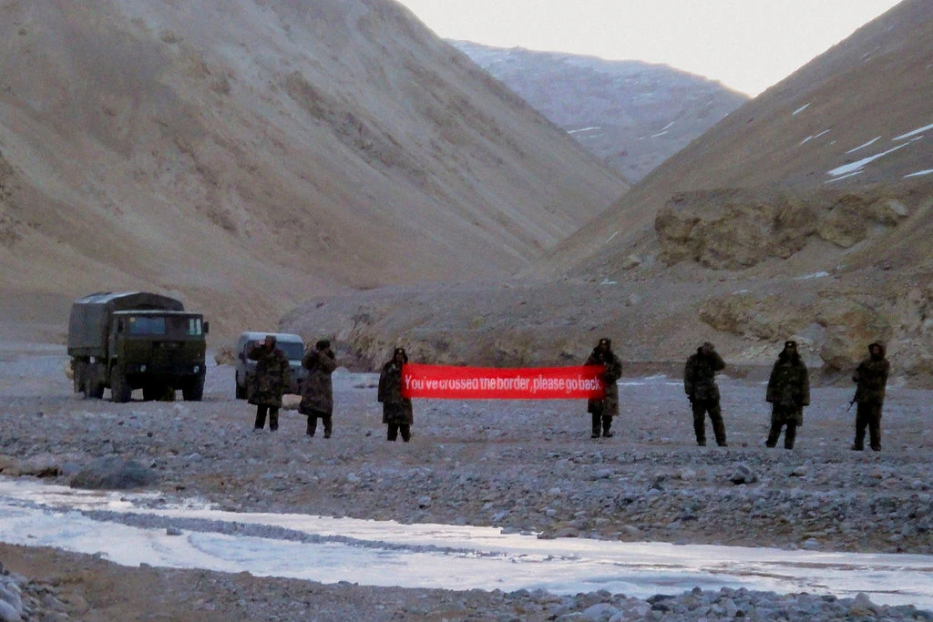 first act of bloodshed in 45 years caused india chinas ties to be profoundly disturbed